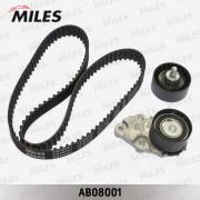 AB08001 MILES Комплект ремня ГРМ