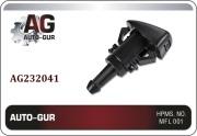 AG232041 AUTO-GUR Форсунка омывателя лобового стекла Chrysler, веерная