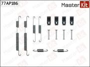 77AP186 MASTERKIT Комплект установочный тормозных колодок