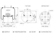 ABM74435K45 TIPTOPOL-NEOTEC Подушка воздушная k-kt metal