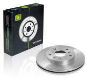 DF270101 TRIALLI Диск тормозной передний для автомобилей Chery Tiggo (05-) МКПП d=264 DF 270101