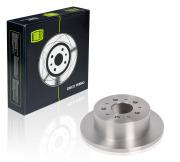 DF165106 TRIALLI Диск тормозной задний для автомобилей Fiat Ducato (94-) 230, 244, 250 d=280 DF 165106
