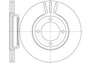 GR02501 GBRAKE Диск тормозной вентилируемый