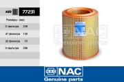 77231 NAC 77231 Фильтр воздушный
