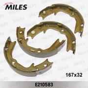 E210583 MILES Колодки ст.тормоза MITSUBISHI LANCER 01>/OUTLANDER 03>/GALANT 96>03
