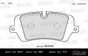 E410438 MILES Колодки тормозные задние