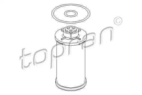 113241 TOPRAN Гидрофильтр, автоматическая коробка передач