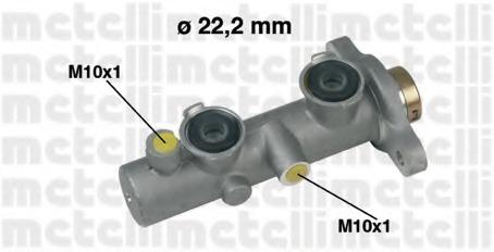 Главный тормозной цилиндр METELLI 050342