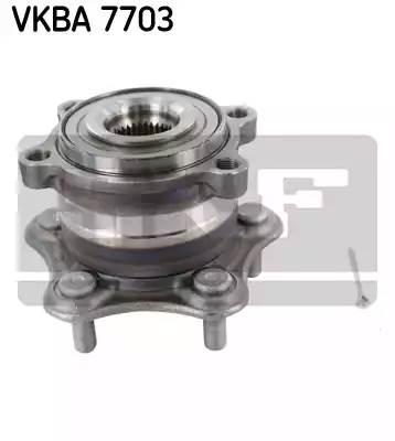 VKBA7703 SKF Комплект подшипника ступицы колеса