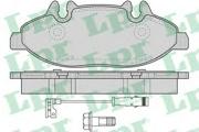 05P1228 LPR Комплект тормозных колодок, дисковый тормоз