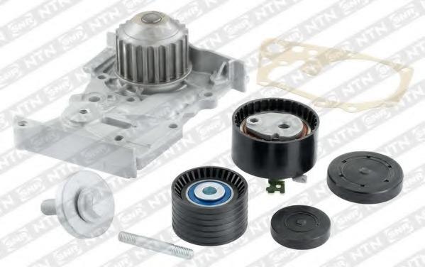 KDP455570 NTN-SNR Комплект (ремень + ролик + водяной насос)