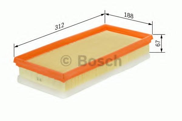 F026400007 BOSCH Воздушный фильтр