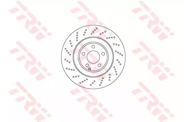 DF6668S TRW/LUCAS Тормозной диск