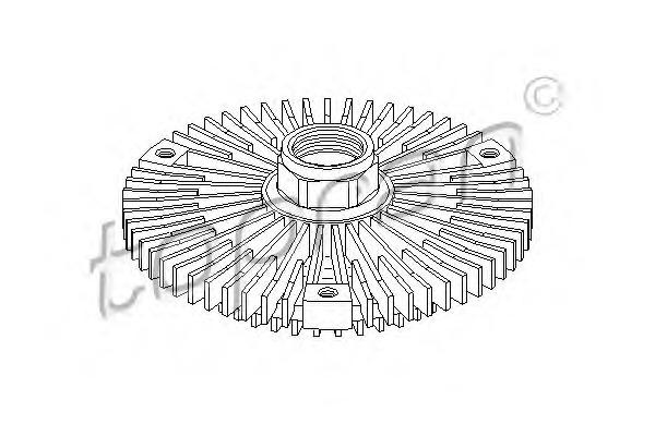 Сцепление, вентилятор радиатора HANS PRIES 401185