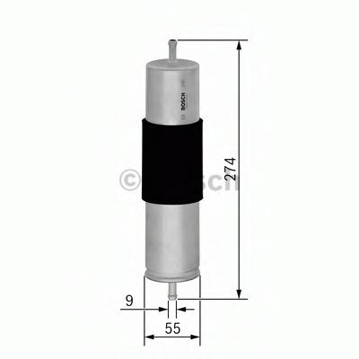 0450906462 BOSCH Топливный фильтр
