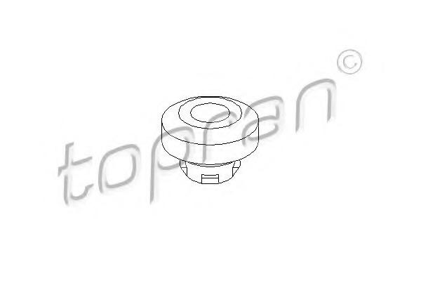 108029 TOPRAN Подвеска, радиатор