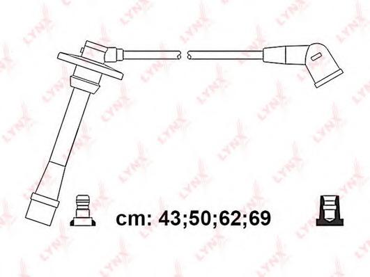 SPC7550 LYNX Провода высоковольтные