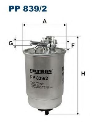 PP8392 FILTRON Фильтр топливный Filtron