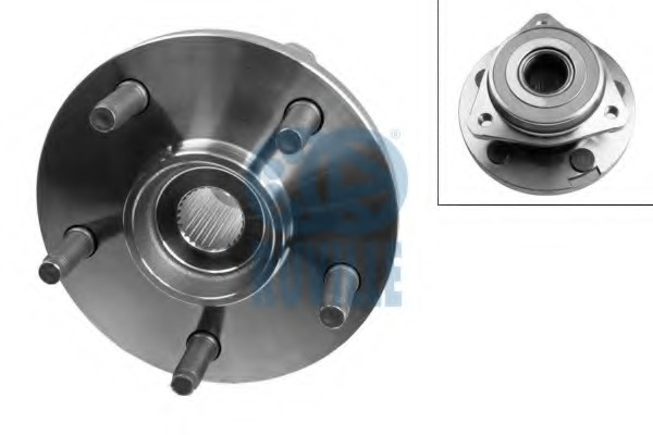8604 RUVILLE Комплект подшипника ступицы колеса