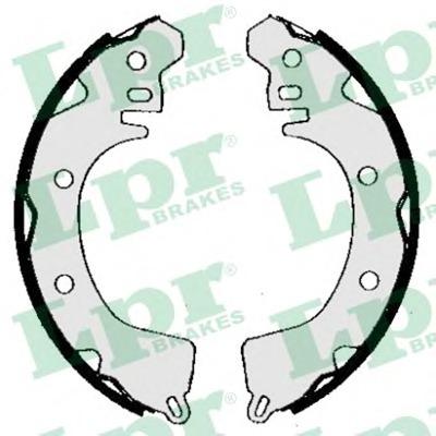 05260 LPR Комплект тормозных колодок