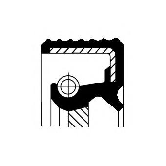 Уплотняющее кольцо CORTECO 19036891B