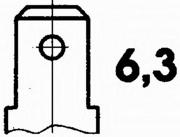 6PT009107651 HELLA датчик температуры ож