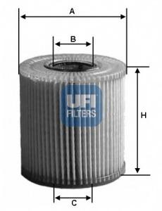 2508000 UFI Фильтр масляный VAG 05- 2.8FSI3.2FSI3.0TFSI