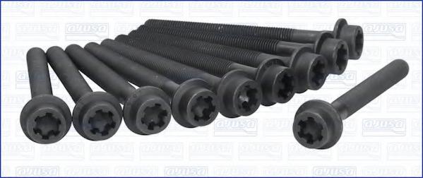 81017900 AJUSA Комплект болтов головки цилидра