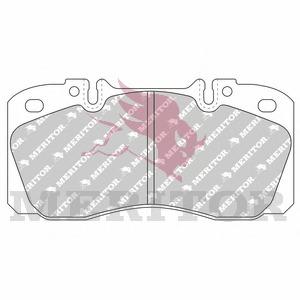 Комплект тормозных колодок, дисковый тормоз MERITOR MDP3122