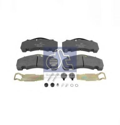 Комплект тормозных колодок, дисковый тормоз DIESEL TECHNIC 1014000