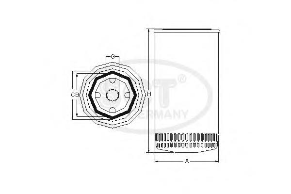 SM5728 SCT Масляный фильтр