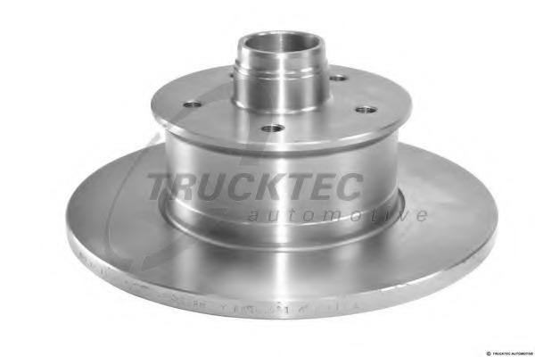 0735087 TRUCKTEC Тормозной диск