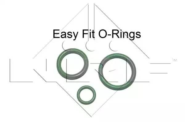 33299 NRF Осушитель кондиционера в сборе ( уплотнительные кольца, стопорное кольцо, крышка )