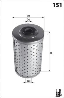 Топливный фильтр MECAFILTER ELG5511