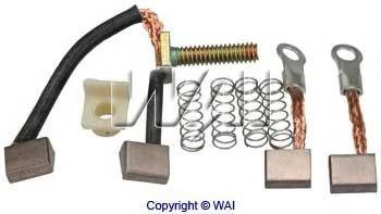687800 WAI Угольная щетка, стартер