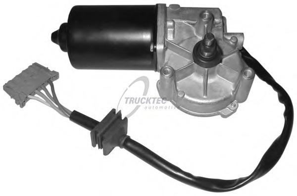 0258039 TRUCKTEC Двигатель стеклоочистителя
