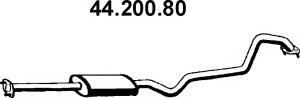 Средний глушитель выхлопных газов EBERSPACHER 4420080