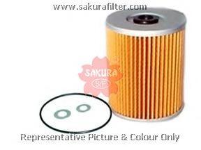F1503 SAKURA Фильтр топливный элемент