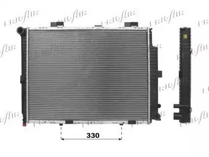 01063062 FRIG AIR Радиатор двигателя