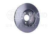 8DD355110071 HELLA Тормозной диск