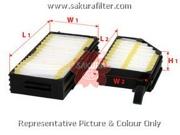 CA18240 SAKURA Фильтр салона комплект