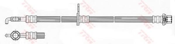 Тормозной шланг TRW/LUCAS PHD534