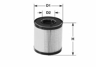 ML470 CLEAN FILTERS Фильтр масляный