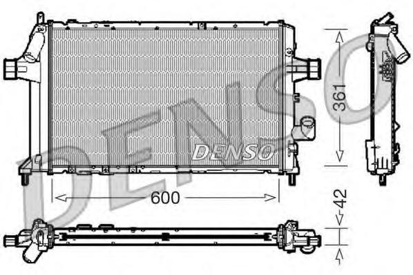 DRM20085 DENSO Радиатор