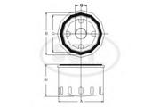 SM109 SCT Фильтр масляный