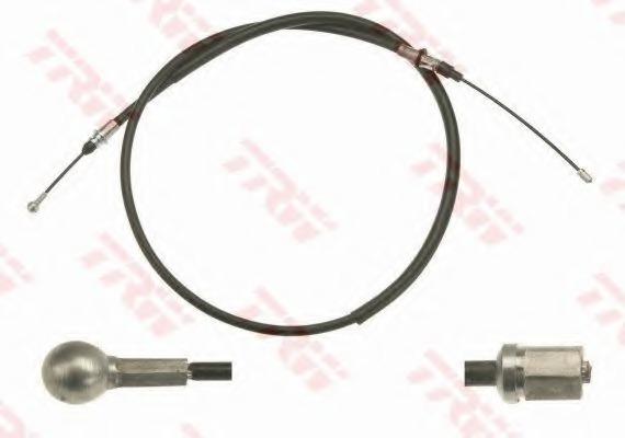 GCH3030 TRW/LUCAS Трос, стояночная тормозная система