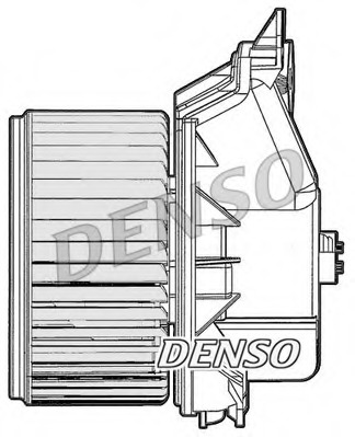 DEA09045 DENSO Вентилятор, конденсатор кондиционера