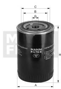 Фильтр для охлаждающей жидкости MANN-FILTER WA9409