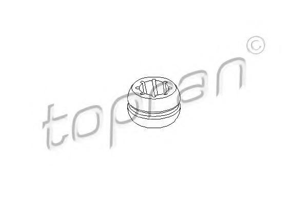103293 TOPRAN Втулка, шток вилки переключения передач