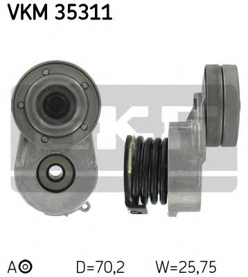 VKM35311 SKF Натяжной ролик, поликлиновой  ремень